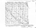 Iowa land survey map of t095n, r015w