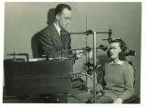 Speech pathology test, The University of Iowa, 1940s