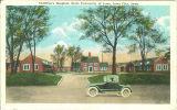 Street view of Children's Hospital, the University of Iowa, 1920