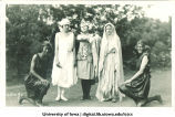Women in costume, The University of Iowa, 1920s?