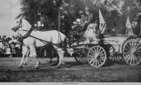 Oskaloosa Fire Department Water Wagon, late 1800's; Mahaska County; Iowa