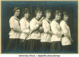 1915 softball team, The University of Iowa, 1915