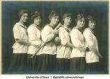 1915 softball team, The University of Iowa, 1915