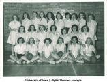 Basketball club, The University of Iowa, 1940s