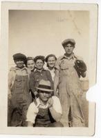 Children of Shuler Mine Employees with Baseball Equipment