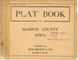 Plat book of Marion County, Iowa