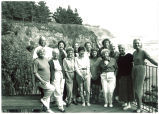 Mary Louise Smith with attendees of the New Older Woman Conference, Big Sur, Calif., July 1992