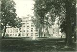 Southeast side of Macbride Hall, the University of Iowa, 1950s?