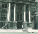 South entrance of Hall of Liberal Arts (now Schaeffer Hall), The University of Iowa, 1930s?