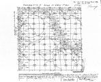 Iowa land survey map of t070n, r006w