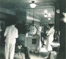 Dental clinic, The University of Iowa, 1940s