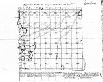 Iowa land survey map of t096n, r021w