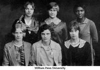 Women's Athletic Association, William Penn University, Oskaloosa, Iowa, 1928