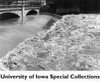 Iowa River flood, Iowa City, Iowa, June 16, 1947