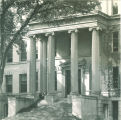 Schaeffer Hall east portico and main entrance, the University of Iowa, 1950s
