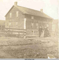 Tailor's shop, Amana, Iowa, 1900s
