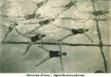 Synchronized swimmers, The University of Iowa, 1930
