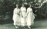 Dancers, The University of Iowa, 1910s