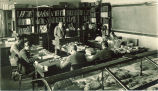 Geology class, The University of Iowa, 1920s