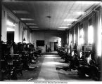 Dental clinic #4, Old Dental Building, The University of Iowa, 1900s
