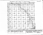 Iowa land survey map of t098n, r013w