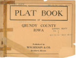 Plat book of Grundy County, Iowa