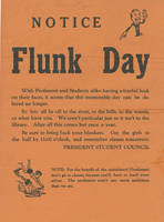 Notice: Flunk Day