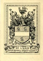 John Sewall Pratt Alcott Bookplate