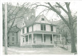 Alumni House at 130 N. Madison Street, The University of Iowa, February 1954