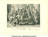 """Champions of Iowa"" football team, The University of Iowa, 1894"