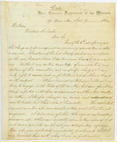 30. Gen. Samuel R. Curtis to Lincoln on cotton speculation charges against Curtis