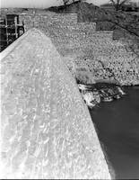 Beed's Lake Dam from side
