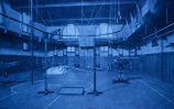 YMCA Gymnasium, circa 1900; Mahaska County; Oskaloosa; Iowa