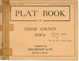 Plat book of Cedar County, Iowa