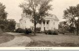 Ingersoll Avenue, Dr. W. W. Pearson Residence