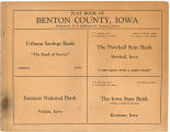 Plat book of Benton County, Iowa
