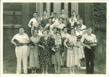 All-State violinists, The University of Iowa, 1930