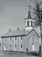 Ceres Church (St. Peter's German Evangelical Lutheran) at Ceres, Iowa -1948
