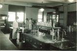 Home economics laboratory, The University of Iowa, 1920s