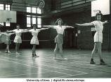 Calisthenics, The University of Iowa, 1950s