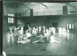 Fancy dance in women's gym class, The University of Iowa, 1910s