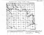 Iowa land survey map of t099n, r009w