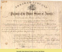 53. Certificate of appointment of Sumner B. Hewett, Jr. as tax collector in Iowa
