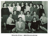 Group of students, The University of Iowa, 1950s