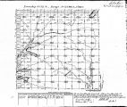 Iowa land survey map of t072n, r027w