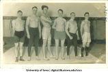 Wrestling team, The University of Iowa, 1920s