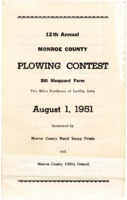 12th Annual Monroe County Plowing Contest
