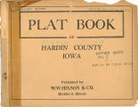 Plat book of Hardin County, Iowa