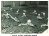 Swimmers, The University of Iowa, 1938