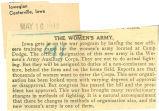 Women's army